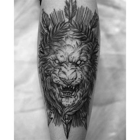 Lion Tattoo Rasta