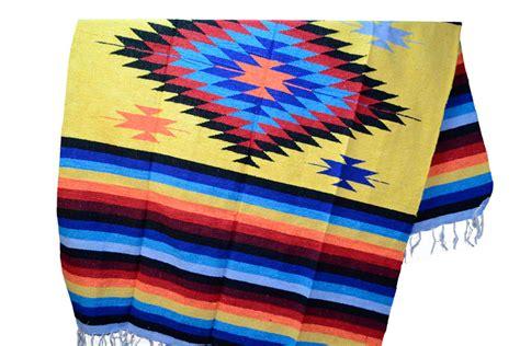 Eeezz0dgyellow40  Mexikanische Indianer Decke