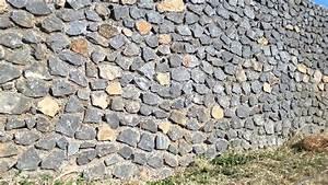 Mur En Moellon : mur moellon cloture sout nement youtube ~ Dallasstarsshop.com Idées de Décoration