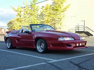 1989 Ford Mustang GT Convertible. Widebody, Supercharged, Hre, Custom show car, - Classic Ford ...