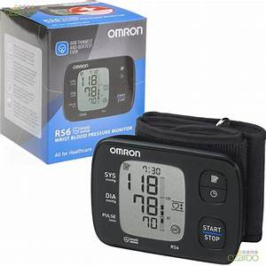 Omron Rs6 Automatic Intellisense Digital Silent Wrist