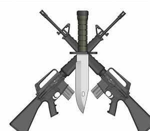 Crossed Rifle Clipart (33+)