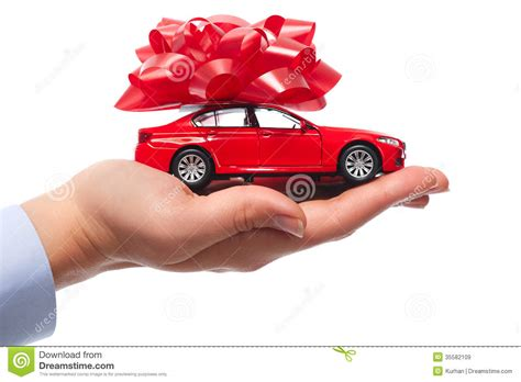Car Gifts For by New Car Gift Royalty Free Stock Images Image 35582109