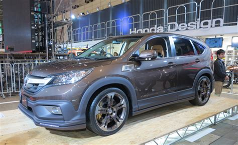 Mugen Honda Cr-v Combines Off-road Style With On-road