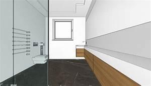 Einrichtung Badezimmer Planung : planungsidee f r ein schlauchf rmiges bad planungswelten ~ Sanjose-hotels-ca.com Haus und Dekorationen