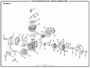 Homelite 51987 Blower  Vacuum S  N 313000001  U0026 Up Parts