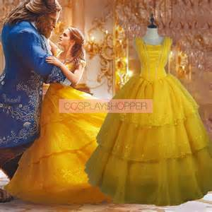 New Dress Belle From Beauty and the Beast Movie