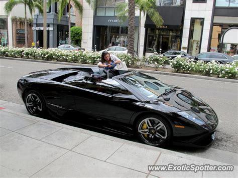 Lamborghini Murcielago Spotted In Beverly Hills