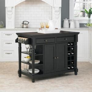 home styles grand torino black kitchen island  storage