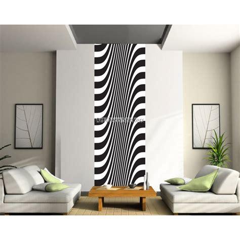 papier peint et blanc papier peint l 233 unique noir et blanc stickers muraux deco