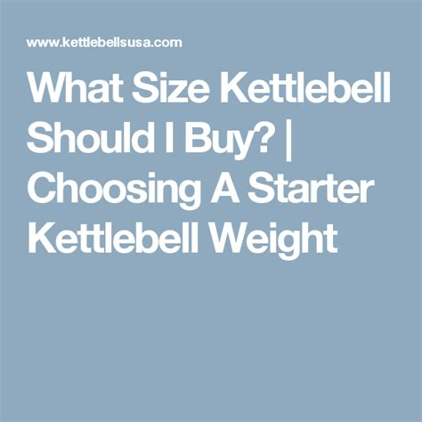 kettlebell should