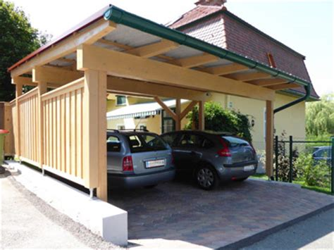 Carport Aus Holz  Planen, Bauen, Montagebausätze Vom