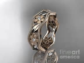 flower wedding ring gold engagement rings gold engagement rings flower