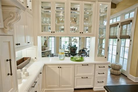 see through kitchen cabinet doors 8 beautiful ways to work glass into your kitchen cabinets 7879