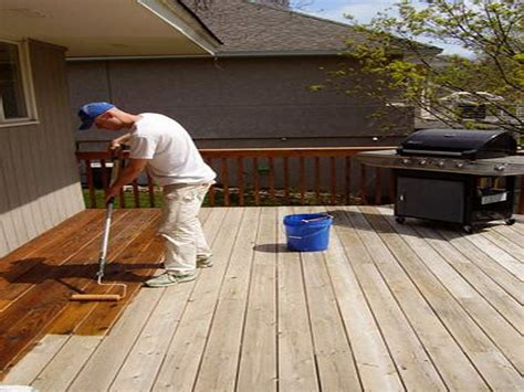 Lasting Outdoor Stain by How To Stain A Deck 28 Images Deck Finish Fix Up How