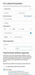 Paypal Zahlung Nicht Möglich : neu im shop lastschrift und kreditkartenzahlung blog ~ Eleganceandgraceweddings.com Haus und Dekorationen
