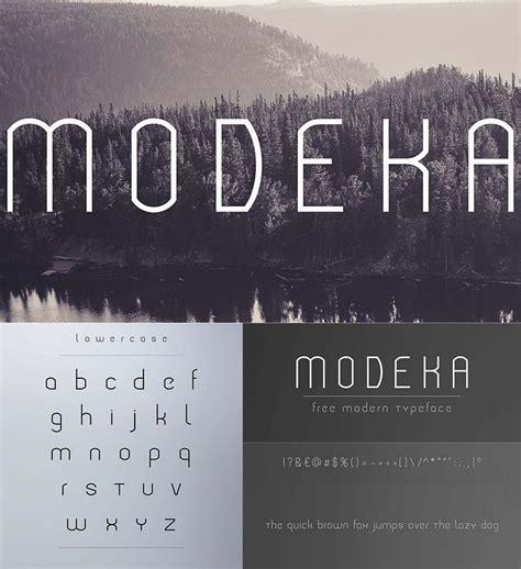 modeka modern font