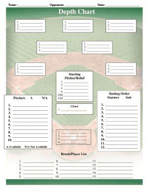 images  baseball position depth template unemeufcom