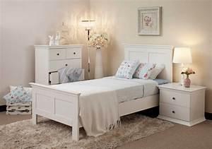 White, Bedroom, Furniture, For, Modern, Design, Ideas