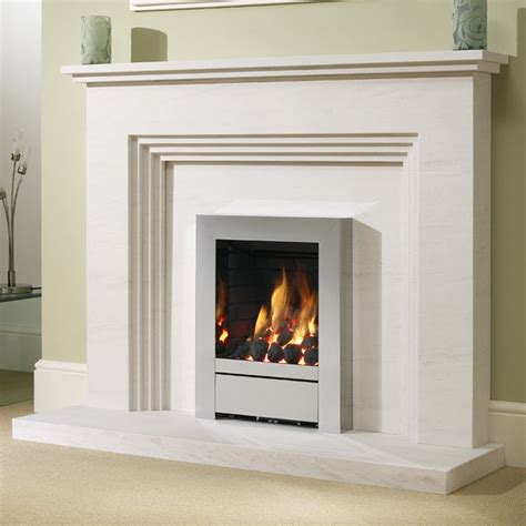 Small Contemporary Kitchens Design Ideas - be modern othello 54 limestone fireplace surround fireplace surround