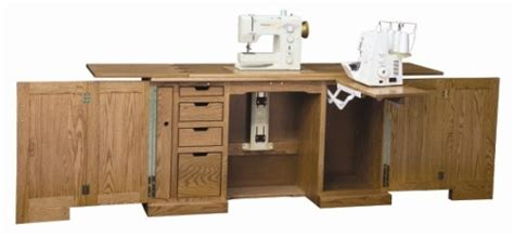 Custom Sewing Machine Cabinets by Solid Hardwood Handcrafted Heirloom Sewing Cabinets