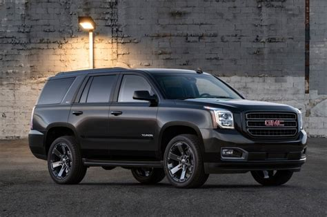 2019 Gmc Yukon Graphite Performance Edition Revealed Gm