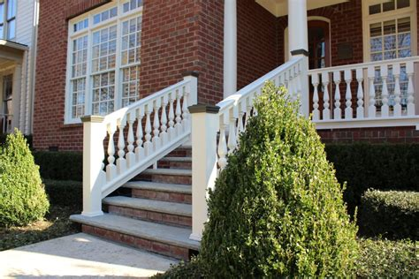 Wooden Porch Spindles by Porch Railing Restoration Using Wood Spindles Balusters