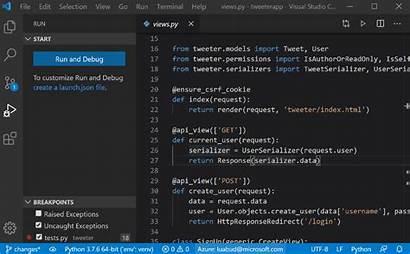 Python Code Process Visual Release Studio March