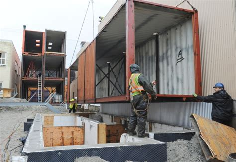 Container Anbau An Haus by Construction Starts On Vancouver Homes Made From Shipping