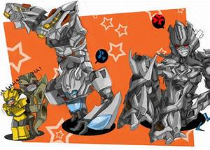 Jazz v. Megatron-Breakdance xD by BumblebeeSam on DeviantArt