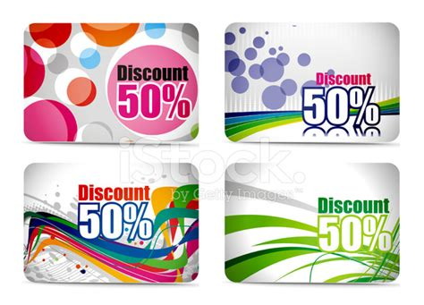 discount card set design stock vector freeimagescom