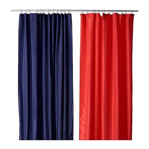 ikea snoa sn 214 a fabric shower curtain blue stripe tone on