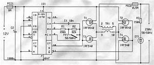 12v To 230v Dc Ac Inverter Circuit