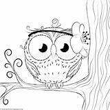 Coloring Owl Unicorn Owls Getcoloringpages Bear Teddy Pug Doodle Coloringpages sketch template