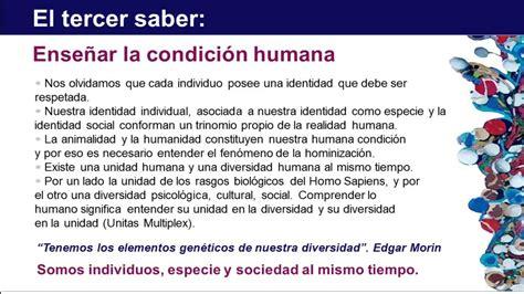 Resumen 7 Saberes De Edgar Morin by Los Siete Saberes Necesarios Para La Educaci 243 N Futuro