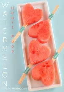 Heart Watermelon Pops
