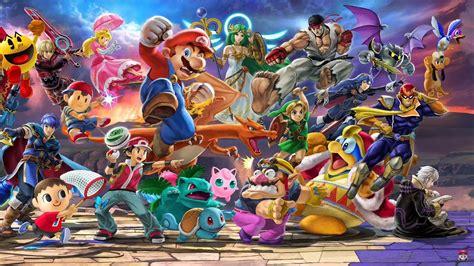 Smash Bros Anime Wallpaper - smash bros ultimate wallpapers wallpaper cave