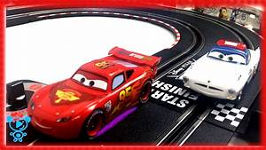 Cars For Children Carrera Go Mcqueen On Race Track Sport