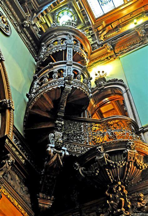 Romania-1535 - Circular Stairway   PLEASE, NO invitations