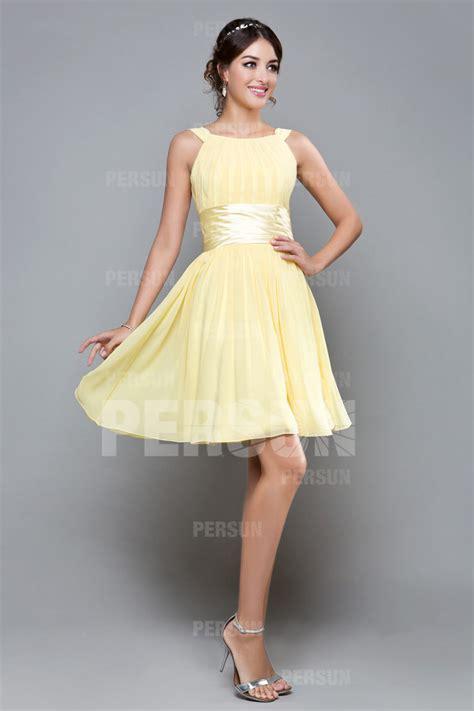 robe bleu pastel pour mariage robe cocktail femme courte jaune pastel pour mariage en