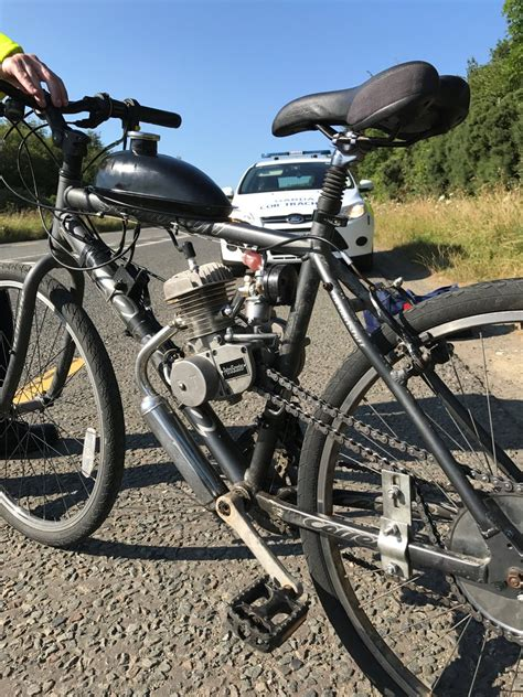 Modified Supine Bicycle by Gardai Seize Modified Mountain Bike On Motorway Sticky