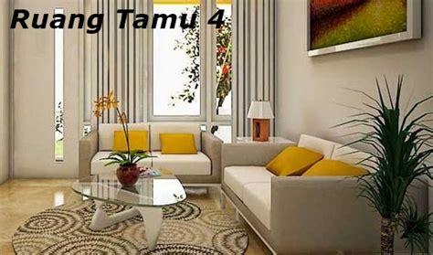 tips menghias ruang tamu sederhana besar  tetap