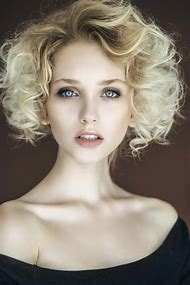 Short Hair Tight Curly Hairstyles
