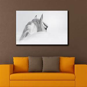 Horse Stretched Canvas Prints Framed Hanging Wall Art ...