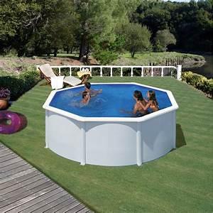 Piscine Hors Sol : piscine hors sol ronde gr mod le fidji ~ Melissatoandfro.com Idées de Décoration