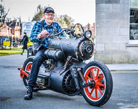 Locomotive Bike, Very Unusual...