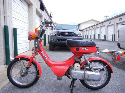 Suzuki Mopeds by 1985 Suzuki Fa50 Moped Low Wow