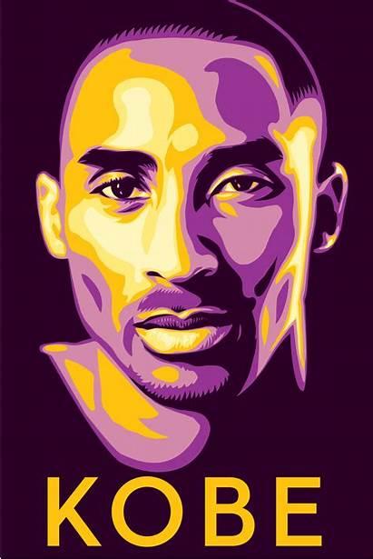 Kobe Bryant Shepard Fairey Poster Gianna Peace