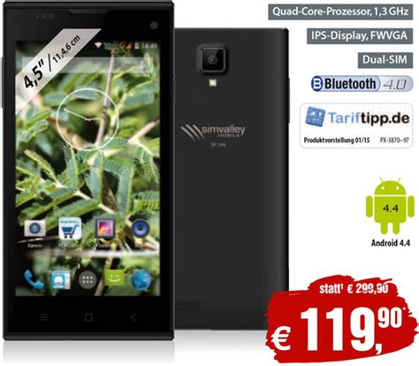 frö sp dual preis top aktuelle android 4 smartphones simvalley mobile bei pearl shop