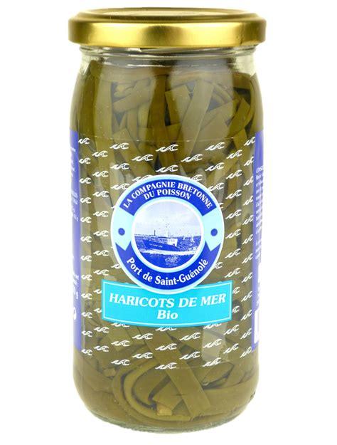 cuisiner haricots beurre haricots de mer 320g haricot de mer bretagne spécialités